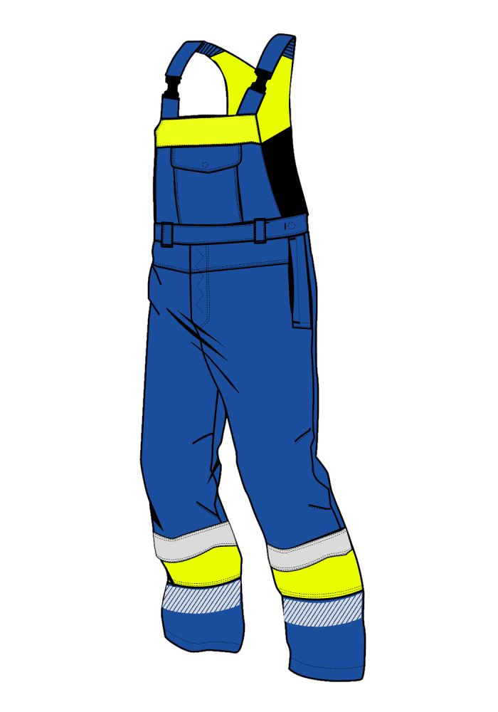 EAGLE ARCTIC GX CHEM ARC BIB PANTS HIVIS I XH
